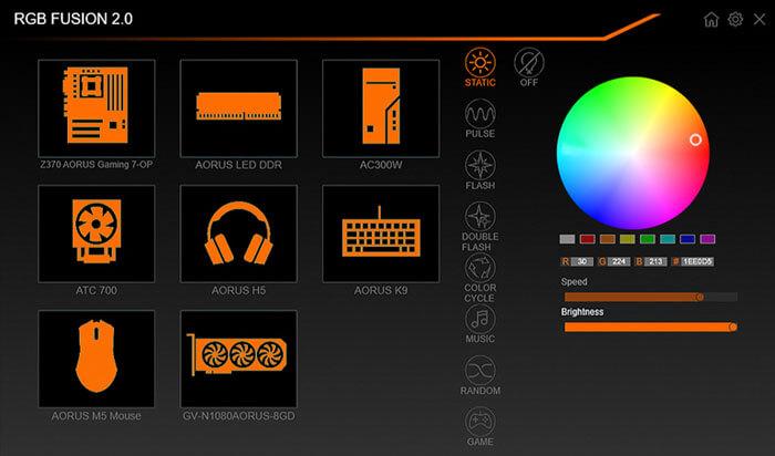 Gigabyte RGB Fusion fix